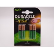 Duracell acumulatori HR03 Ni-Mh AAA 1.2V 750mAh ready to use DC2400 Duralock