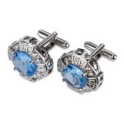 Manschettknappar Blue Gemstone (1 par)