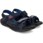 REEBOK Men COLL NAVY/BLUE SPORT/BLK Sports Sandals