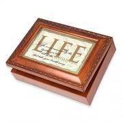 Lifes Moments Inspirational Music Musical Jewelry Box Plays What a Wonderful World