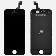 Apple iPhone 5C Skärm LCD display Svart AAA Kvalité