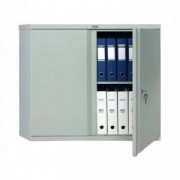 Метален шкаф Промет CB 01 с нормални врати, 1 рафт