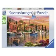 Ravensburger puzzle port mediteranean 1500 piese