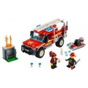 Lego Camión de Intervención de la Jefa de Bomberos
