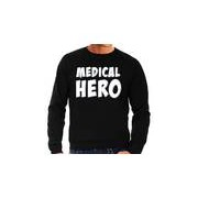 Bellatio Decorations Medical hero / zorgpersoneel cadeau sweater zwart voor heren