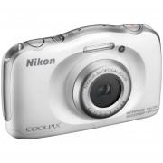 Camara Nikon Coolpix W100 13mp Sumergible Resiste A Golpes-Blanco