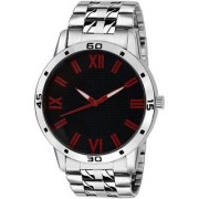 TRUE CHOICE SILVER DAIL RICH LOOK NEW BRAND SUPER WATCHS FOR MEN.BOYS.
