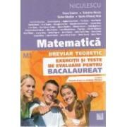 Matematica M1. Bacalaureat. Breviar teoretic. Exercitii si teste. Ed. 2017 - Petre Simion