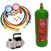 Incarcare cu freon aparate aer conditionat tip split 7000 - 12000 BTU