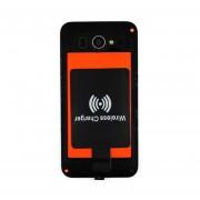 EY Módulo Receptor Cargador Inalámbrico Universal QI Para Micro-USB Del Teléfono Móvil Negro.