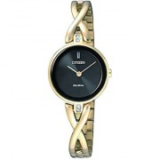 Citizen Analog Black Dial Unisex Watch - EX1422-89E