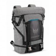 "Backpack, Acer Predator Rolltop 15.6"", Gray n Teal Blue (NP.BAG1A.290)"