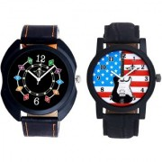 Star USA Guitar With Ether Chain Digits SCK Combo Gallery Wrist Watch