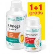 Omega 3-6-9 + coenzima q10 15 mg 90cps ROTTA NATURA