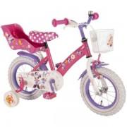 Bicicleta Copii Volare Minnie Mouse Cu Roti Ajutatoare 12 Inch