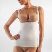 Alakformáló női trikó mellrész kihagyással, FarmaCell Shape 606, fehér, XXL