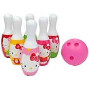 What Kids Want Hello Kitty Bowling Set