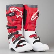 Alpinestars Crossstiefel Alpinestars Tech 7 Weiß-Rot