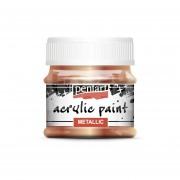 Pentart Metál antikréz színű akril bázisú hobbi festék 50 ml