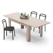 Mobili Fiver Mesa de cocina extensible, modelo Easy, color Olmo Claro