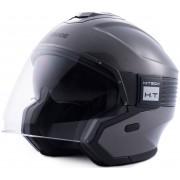 Blauer Hacker Jet Helmet Black Grey L