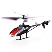 RC Helicopter, 3.5 Channel Durable Remote Controlled Helicopter with Gyro and LED Light for Indoor Outdoor, Ready to Fly RC Airplane Model Best Birthday Toy Gift for Kids, Boys & Girls and Even Adults