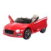 Mașinuță electrică pentru copii Bentley EXP 12 Prototype, Vopsită în Roșu, Licență Originală, cu Baterii, Uși care se deschid, Scaun din Piele, 2x Motoare, Baterie de 12V, Telecomandă 2.4 Ghz, roți ușoare EVA, pornire Lină