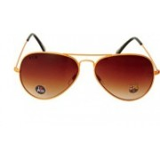 FCB Aviator Sunglasses(Brown)