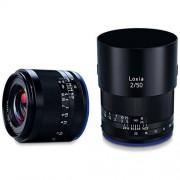 Zeiss Loxia Lente Plano para Sony E Mount, 50 mm, f/2, Color Negro