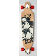 Longboard DROP SHAPE - Flower