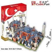 CubicFun 3D Puzzle MC-Series The Hagias Sophia - Istanbul