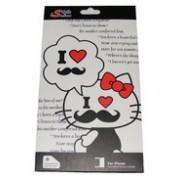Преден и заден протектор за Apple iPhone 5 Hello Kitty 1