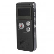LEORY Beste 8 GB Mini Digitale Audio Voice Recorder Dictafoon Mp3-speler Opname Pen Recorder Pen Oplaadbare - Grijs