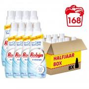 Robijn Stralend Wit Klein & Krachtig wasmiddel - 168 wasbeurten - 8 x 735 ml
