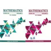 Mathematics class 12 vol 1 & 2 (set of 2 Books) by R D Sharma