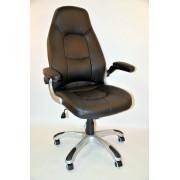Hyle uredska stolica K-8332B crna