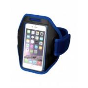Suport telefon pentru brat sport Everestus STT058 poliester albastru laveta inclusa