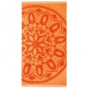 Mandala strand fürdőlepedő, narancssárga narancssárga 90x170
