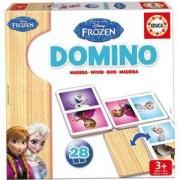 Дървено домино Frozen Educa, 8412668162556