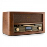 Auna Belle Epoque 1906 DAB sisteme stereo retro DAB + USB Bluetooth CD MP3 FM (RM1-Epoque1906 DAB)