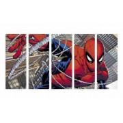 Set Tablouri Multicanvas 5 Piese Spider-Man - 90 x 150 cm