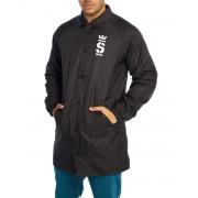 SUPRA Champ Trench Coaches Coat Black