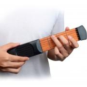 Mini Bolsillo Guitarra Portable Guitar Trainer Dedo Acorde Kd10 Conversion Trainer (negro 4 Caracteres)