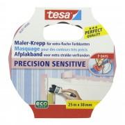 Tesa Precision Sensitive afplaktape 38 mm 25 meter roze