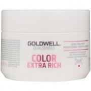 Goldwell Dualsenses Color Extra Rich máscara regeneradora para cabelo áspero e colorido 200 ml