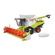 Bruder Moissonneuse Batteuse Claas Xerion 780 Terra Trac