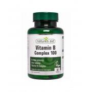 Natures Aid B-vitamin komplex 100 nyújtott f. tabletta 60 db