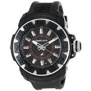 Fastrack Quartz Black Dial Mens Watch-9334PP02