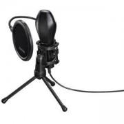 Настолен микрофон HAMA MIC-USB Stream, HAMA-139907