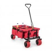 Waldbeck Red Devil, червена, ръчна количка, сгъваема, 68 кг, странични джобове (WGO-Red-Devil)